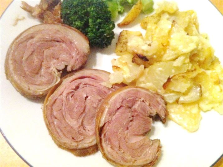 Slow Cooker Crispy-Skin Lamb Breast with Dauphinois Potatoes, Lay The Table