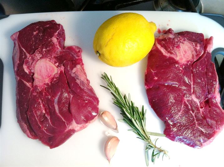 Exotic Meats Taste Test: Kid Goat Steaks with Pepper and Feta Cous Cous, Lay The Table