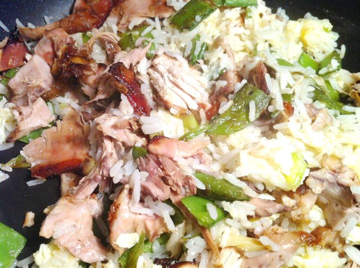 Chinese Chicken Fried Rice, Lay The Table