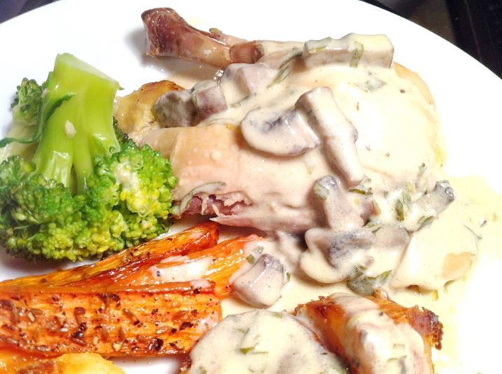 Pippa Middletons Easter Pot Roast Tarragon Chicken, Lay The Table