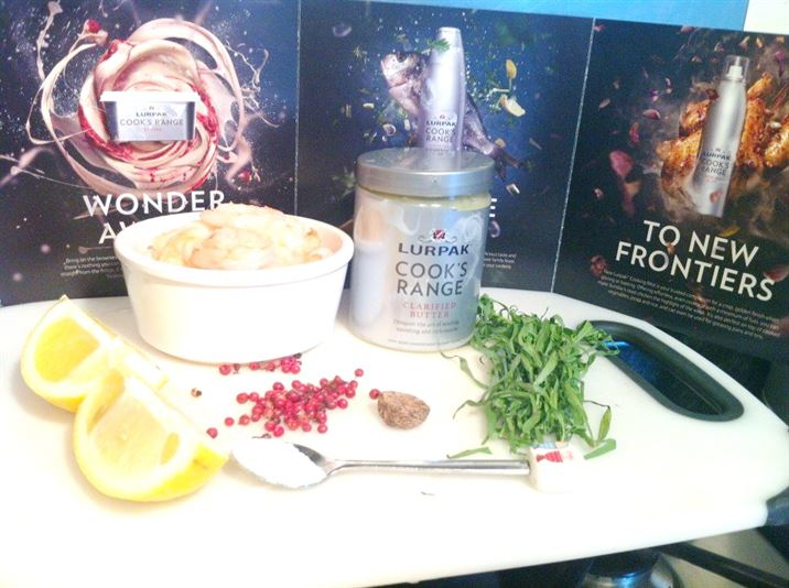 Lurpak Food Adventures: Potted King Prawns with Pink Peppercorns and Tarragon, Lay The Table