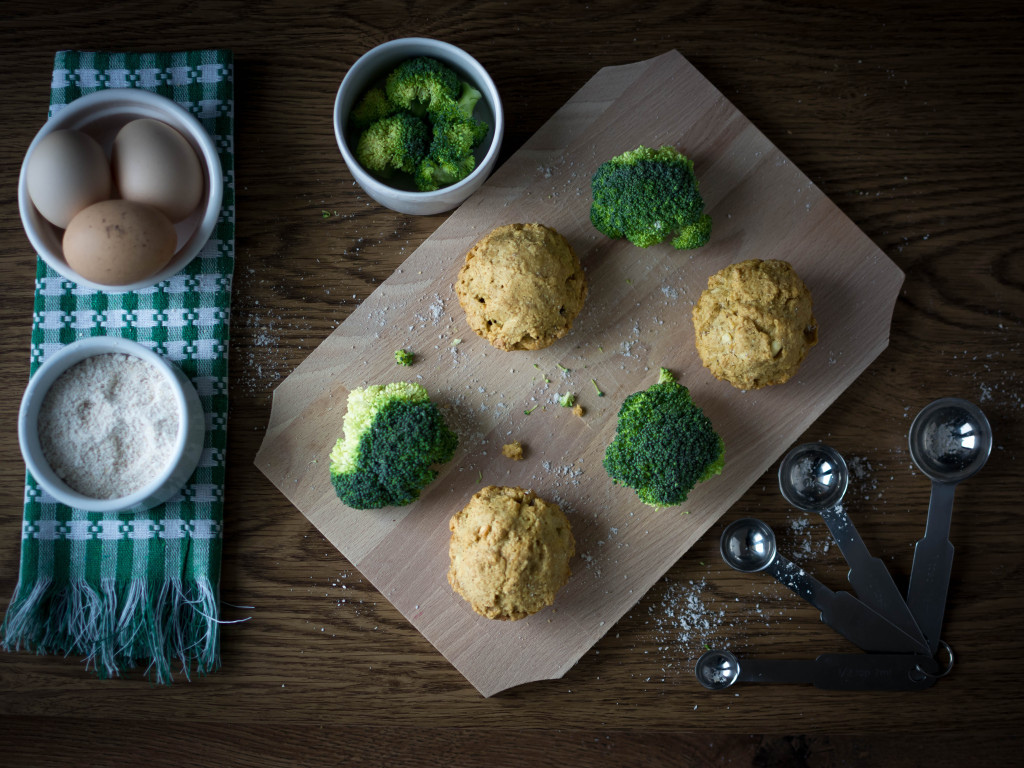 BROCCOLI MUFFINS, Lay The Table