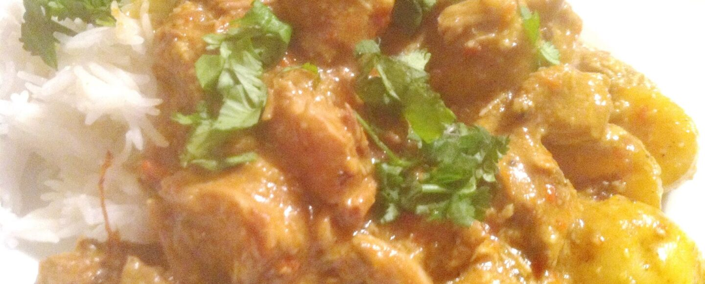 #RecipeShed: Slow Cooker Pork Vindaloo, Lay The Table