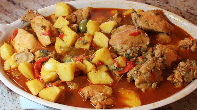 Fricase de Pollo – Cuban Chicken Fricassee, Lay The Table