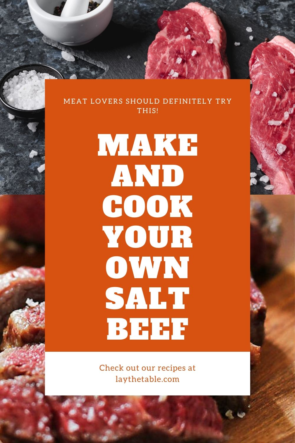 Make And Cook Your Own Salt Beef, Lay The Table