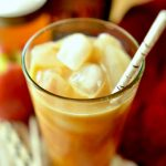 Iced Apple Chai Latte