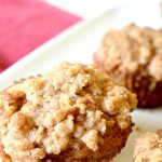 Brown Sugar & Maple Apple Crumb Muffins