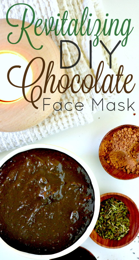 Revitalizing DIY Chocolate Face Mask, Lay The Table