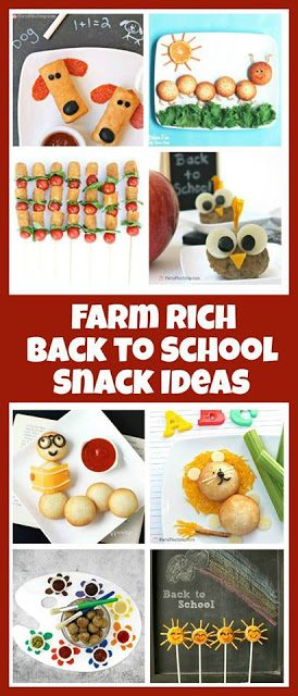 Sunny Snacks for Back to School, Lay The Table