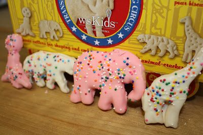 Animal Cracker Cookies…Homemade!, Lay The Table