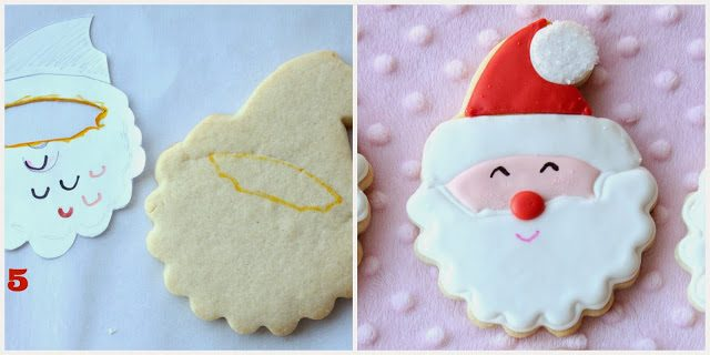 Smiling Santa Cookies, Lay The Table