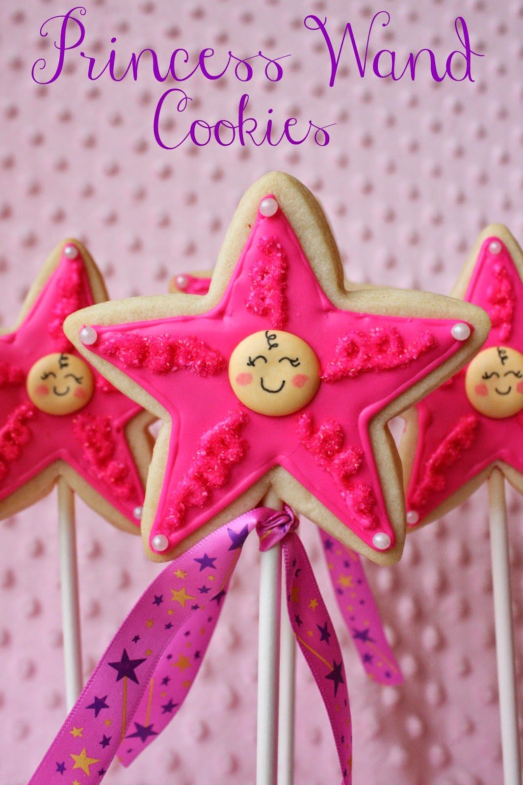 Princess Wand Cookies for a Virtual Baby Shower, Lay The Table