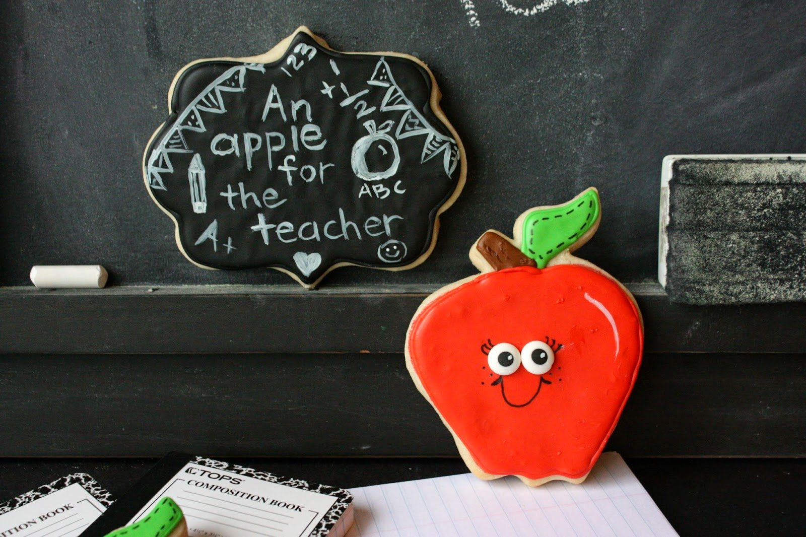 Apple Cookies for the Teacher, Lay The Table