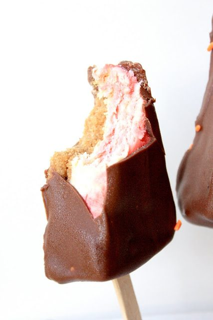 Chocolate~Dipped Cheesecake Bars, Lay The Table